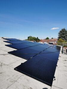 Impianto fotovoltaico 11 KWp trifase